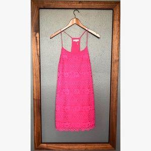1. State Lace Racerback Shift Dress